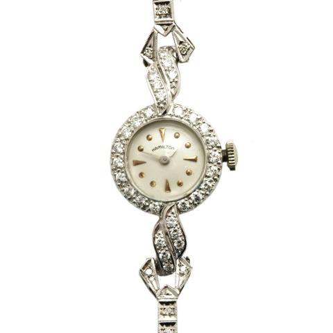 Hamilton Diamond Vintage Watch