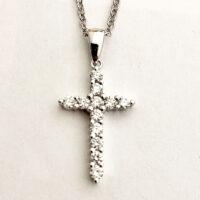 Diamond Cross Pendant 1:4